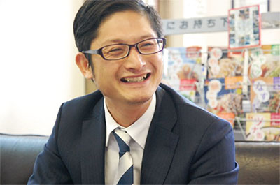 ロンドフードサービス株式会社 代表取締役社長土高功陽